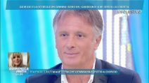 """Domenica Live, Giorgio Manetti: """"Ci credevo nella storia con Gemma Galgani"""""""