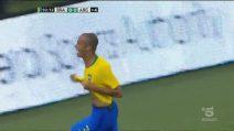 Argentina-Brasile 0-1: gli highlights e il gol dell'interista Miranda
