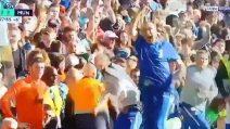 Il Chelsea segna al 96': Sarri letteralmente scatenato