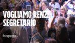 Leopolda 2018, i militanti del Pd vogliono di nuovo Renzi segretario