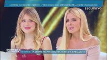 Loredana Lecciso con la figlia Jasmine Carrisi a Domenica Live