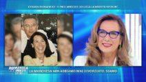 Cesara Buonamici a Domenica Live, la sorpresa di Lamberto Sposini
