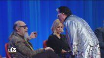 Maurizio Costanzo Show, Cristiano Malgioglio contro Roberto D'Agostino