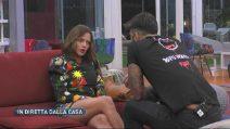 Grande Fratello VIP - Il confronto tra Silvia e Fabrizio Corona - parte 2