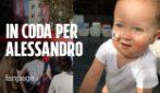 Alessandro Maria, il bimbo che ha bisogno di midollo: code fino a sera a Milano per cercare donatore