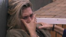 Il pianto disperato di Benedetta Mazza, ha un vuoto dentro