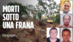 Frana nel crotonese, quattro morti: corpi seppelliti sei metri sottoterra