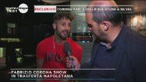 Grande Fratello Vip 2018, Fabrizio Corona commenta l'incontro con la Provvedi e lo scontro con la Blasi