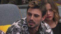 Francesco Monte parla del bacio tra Martina e Giulia