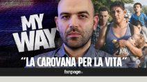 """Roberto Saviano: """"Perché c'è una carovana di uomini che sta scappando dall'Honduras"""""""