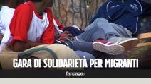 """Napoli, gara di solidarietà per i migranti minorenni arrivati al porto: """"Città generosa"""""""