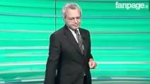 """Enrico Mentana perde la voce durante TgLa7: """"Non penso che ce la faccio"""""""