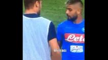 Napoli-Roma, scambio di battute tra Insigne e Totti a fine gara