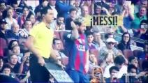 Lionel Messi torna al Camp Nou, l'ovazione dei tifosi del Barcellona
