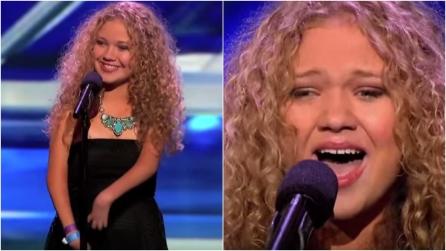 Affetta da una sindrome rara, sale sul palco del talent: la sua voce conquista tutti