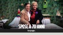 """L'amore non ha età, Lidia e Laura spose a 70 anni: """"E' stato un colpo di fulmine"""""""