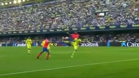 Lo straordinario gol di Boateng: una sforbiciata volante da brivido