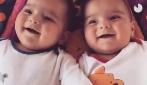 O riso dos gêmeos vai te dar muita alegria