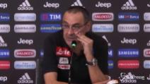 """Sarri: """"Insigne, stia zitto. A Torino risultato bugiardo"""""""