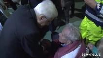 """Terremoto Centro Italia, Mattarella fa visita agli sfollati: """"Ricostruiremo tutto come era prima"""""""