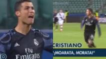 Le urla di Cristiano Ronaldo nello stadio vuoto: CR7 si arrabbia con i compagni