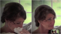 La sposa in lacrime durante il matrimonio: la commovente sorpresa del padre