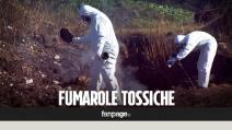 """Terra dei fuochi. Fumarole tossiche dove c'era la discarica più grande d'Europa: """"Aiutateci"""""""
