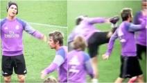 Il colpo di karatè di Cristiano Ronaldo a Fabio Coentrato