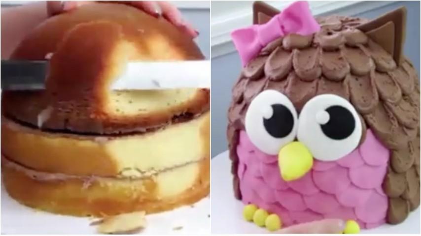 Come realizzare una torta a forma di gufetto  un idea che farà impazzire i  bambini 4eb471f9fbe6