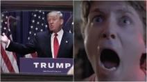 Trump diventa presidente nel film Ritorno al Futuro: il video virale in rete
