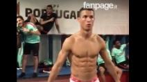 Il tempo si ferma negli spogliatoi: il Portogallo alle prese con la Mannequin Challenge