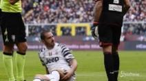 Bonucci e Dani Alves si rompono, Juve in emergenza