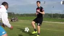 """Milik in ripresa: """"Primi contatti col pallone, grazie a tutti coloro che m'incoraggiano"""""""