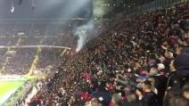 Suso porta in vantaggio il Milan: l'urlo della tifoseria rossonera a San Siro