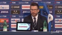 """Di Francesco: """"Sconfitta? Colpa nostra, abbiamo perso da coglioni"""""""