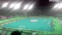 """Napoli- Dinamo Kiev, l'urlo """"The Champions"""" allo stadio San Paolo: una scena da brividi"""
