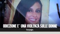"""Non una di meno, in piazza i genitori di Valentina Milluzzo: """"Obiezione di coscienza è violenza sulle donne"""""""