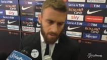 """De Rossi: """"Contro la Lazio una Roma diversa"""""""