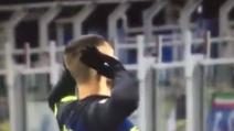 Inter-Fiorentina, Icardi firma un gran gol ed esulta sotto la curva