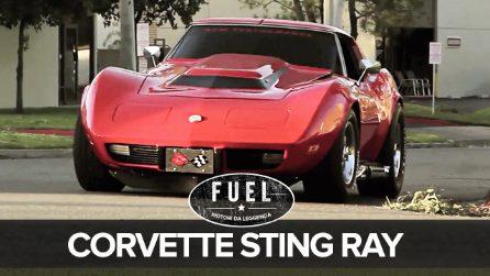 La più rumorosa al mondo, una Corvette Sting Ray trasformata in un dragster