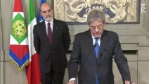"""Gentiloni nuovo Presidente del Consiglio: """"Urgente dare all'Italia un Governo"""""""