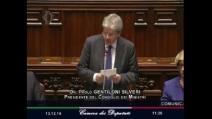 """Gentiloni: """"Governo sarà in carica fino a che avrà la maggioranza"""""""