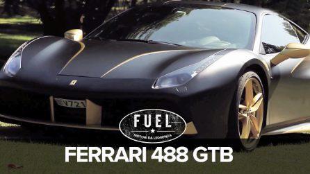 La prova su strada della Ferrari 488 GTB, un bolide moderno da sogno