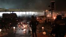 La spaventosa esplosione ad Istanbul: il momento esatto del boato