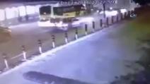Il momento esatto dell'esplosione a Istanbul, vicino lo stadio del Besiktas