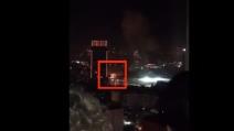 Autobomba a Istanbul: l'esplosione vista da un'altra inquadratura