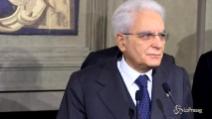"""Mattarella dopo le consultazioni: """"C'è bisogno di un Governo in tempi brevi"""""""