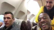 """In viaggio verso Doha: Evra insegna a Mandzukic """"I love this game"""""""
