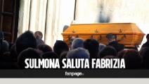 """Sulmona, l'ultimo saluto a Fabrizia di Lorenzo: """"E' la figlia di tutti noi, un pezzo della città che se ne va"""""""