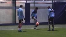 """Manchester City, i """"numeri da circo"""" di Sterling, Clichy e Delph"""